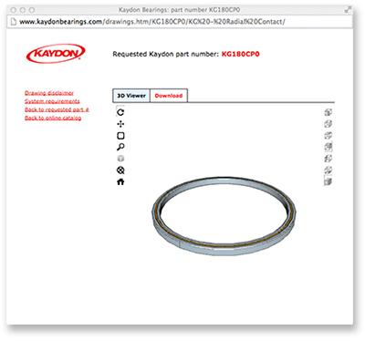 2D & 3D model downloads window