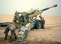 Kaydon Bearings - markets - aerospace & defense - towed howitzer