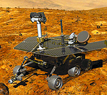 Kaydon Bearings - markets - aerospace & defense - Mars Rover