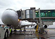 Kaydon Bearings - markets - industrial machinery - jetway apron drive passenger boarding bridge