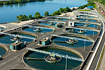Kaydon Bearings - markets - industrial machinery - wastewater treatment plant
