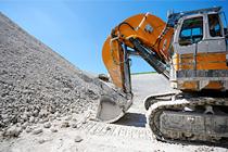 Kaydon Bearings - markets - mining - excavator