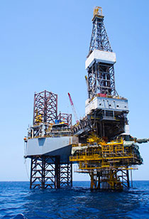 Kaydon Bearings - markets - oil & gas - oil rig