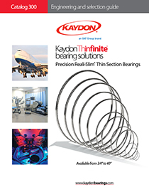 2014 Kaydon catalog 300 - thin section bearings
