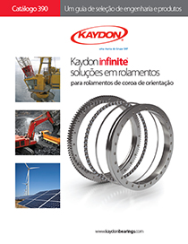 Kaydon Portuguese Catalog 390 slewing ring bearings