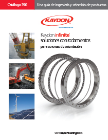 Kaydon Catalog 390 slewing ring bearings