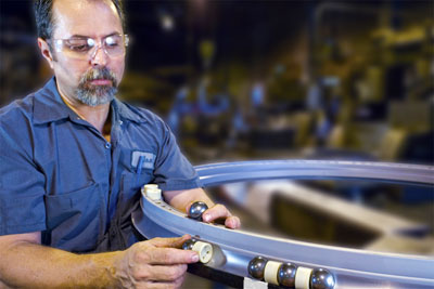 Kaydon bearing remanufacturing program: assembly